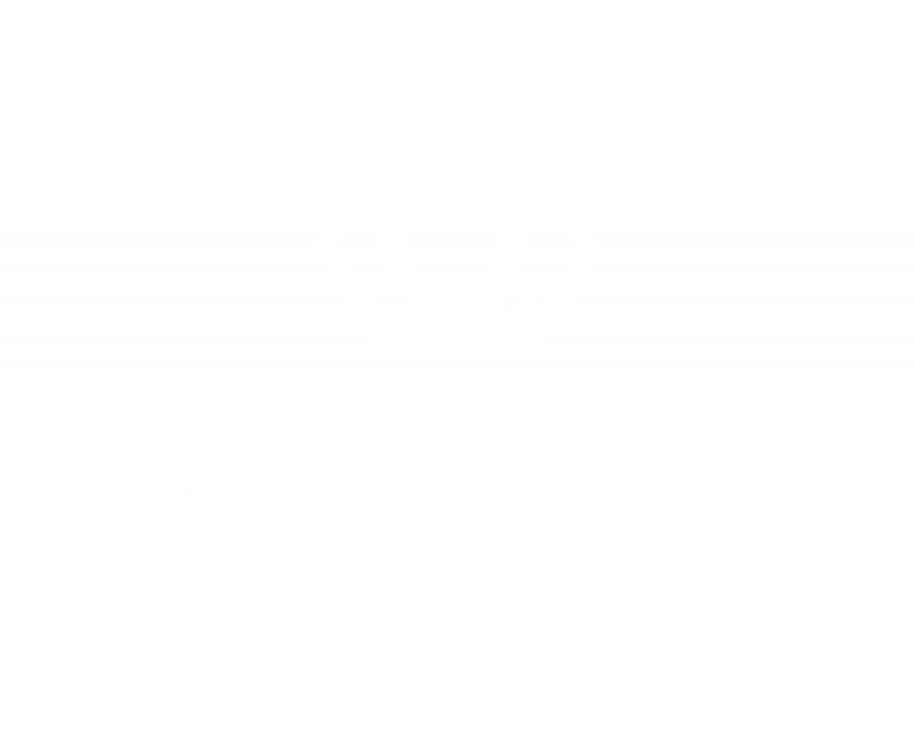 Quality Parts Logo White